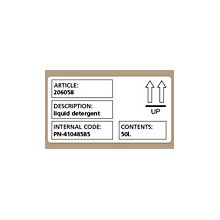 Dymo Shipping / name badge labels, Black...