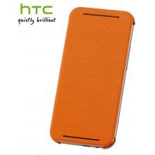 HTC Kaitseümbris One (M8), klapiga, oranž