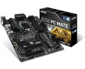 MSI B250 PC MATE, B250, LGA1151, 4xDDR4...