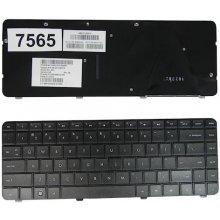 Qoltec HP CQ42 BLACK клавиатура