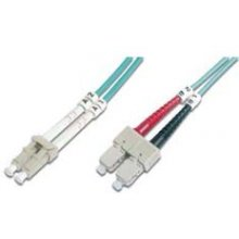 DIGITUS Fiber Optic Patch Cord, LC / SC 3m...