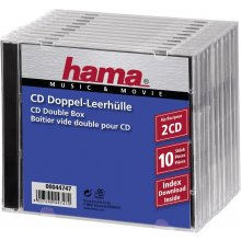 Диски Hama CD двойной Box 10pcs Jewel-чехол...