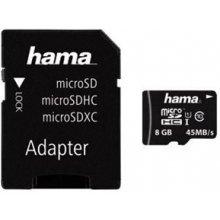 Флешка Hama microSDHC 8GB Class 10 8GB inkl...