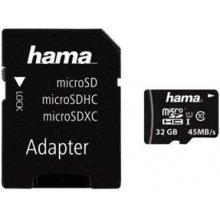 Mälukaart Hama microSDHC 32GB Class 10 32GB...