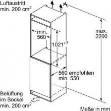Külmik BOSCH KIR31VF30 (EEK: A++)