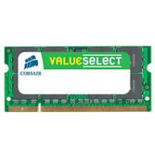 Mälu Corsair 2GB 800MHz DDR2 CL5 SODIMM 1.8V