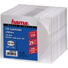 Диски Hama CD-Leerhülle Slim