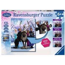 RAVENSBURGER Disney Frozen 100 pcs XXL Spot...
