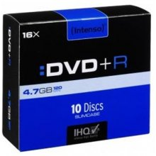 Toorikud INTENSO DVD+RW 4,7GB 10pcs Slimcase...