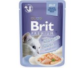 Brit Salmon Fillets in Jelly for Adult Cats...