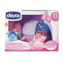 CHICCO Projector stars розовый