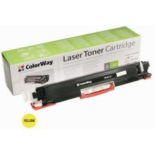 Tooner ColorWay Toner Cartridge, kollane, HP...