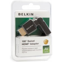 BELKIN HDMI, HDMI, HDMI, Male/Female, чёрный