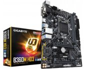 Emaplaat GIGABYTE B360M HD3, LGA1151, Intel...
