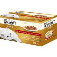 Gourmet Gold для кошек - кусочки в соусе, 12...