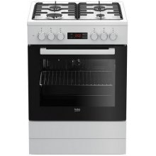 Pliit BEKO FSE62320DW Gas-electric cooker