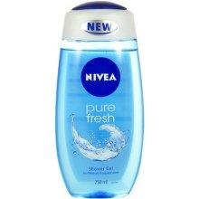 NIVEA Pure Fresh 250ml - гель для душа для...