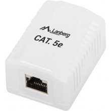 Lanberg Surface mount box 1x RJ45 Kat.5E...