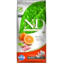 Farmina N&D Dog Adult Medium - fish & orange...