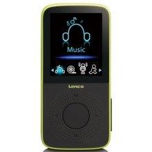 Lenco MP3 player Podo 153 lime 4GB
