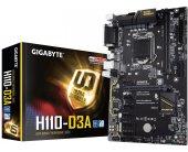 Emaplaat GIGABYTE GA-H110-D3A 1.0 Processor...