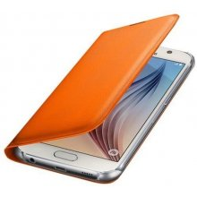Samsung Flip Wallet PU für S6 оранжевый