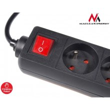 Maclean MCE45 Power Strip 4-outlet с switch...
