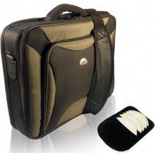 Natec Notebook Bag PITBUL BLACK-OLIVE 17.3