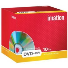 Diskid IMATION DVD+RW 4.7GB 4X 10er Pack
