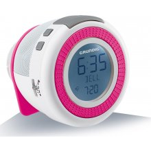 Raadio Grundig Sonoclock 220 valge/pink