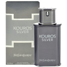 Yves Saint Laurent Kouros серебристый,  EDT...