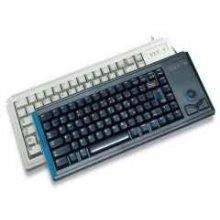 Клавиатура Cherry COMPACT G84-4400 серый