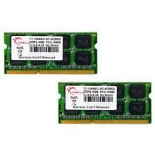 Mälu G.Skill SO DDR3 8GB PC 1066 CL9 KIT...