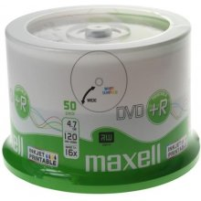 Диски Maxell DVD+R 4,7 GB 16x PRINTABLE cake...