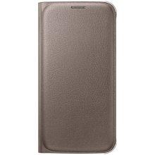 Samsung Flip Wallet PU für S6 gold