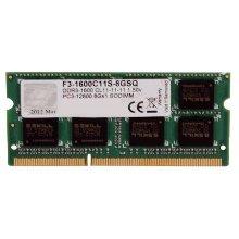 Mälu G.Skill SODIMM DDR3 8GB 1600MHz CL11