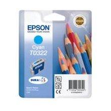 Тонер Epson чернила T0322 голубой | Stylus...