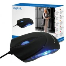 Мышь LogiLink USB Mini wired, розовый