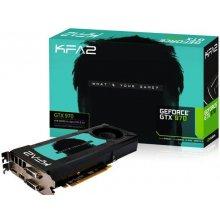 Videokaart KFA2 GTX970 4GB Black Edition...