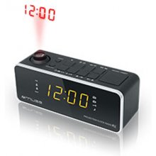 Muse Clock radio M-188P Black, 0.9 inch...