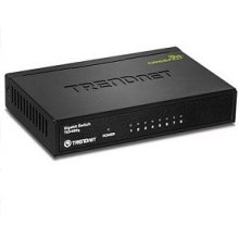 TRENDNET Switch 8-Port Gbit GREENnet Metall