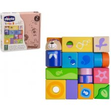 CHICCO Wooden blocks set of 23 elements