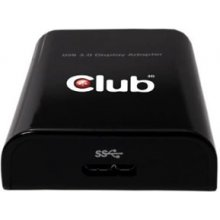 Videokaart CLUB 3D Club3D adapter USB 3.0...