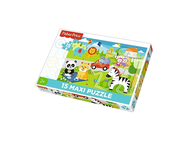 2a52430980d TREFL Puzzle 15 elements Maxi - Picnic with Friends 14286 - OX.ee