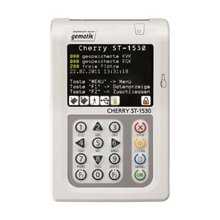 Кард-ридер Cherry ST-1530 белый / серый