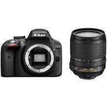 Fotokaamera NIKON D3300 + 18-105VR