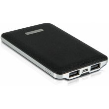 Whitenergy Powerbank 5000mAh dual USB black