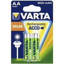 VARTA 1x2 Solar Accu AA NiMH 800 mAh Mignon
