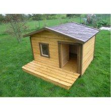 Inpuit Soojustatud terrassiga koerakuut...