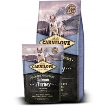 CARNI LOVE Salmon & Turkey for Puppies 1.5kg